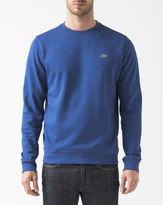 Lacoste Blue Round-Neck Sweatshirt