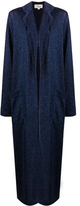 Temperley London Harvest Moon knit coat