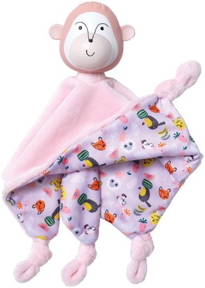 Manhattan Toy Fruity Paws Momo Monkey Baby Soothing Lovie Teething Toy