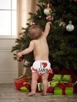 Mud Pie Baby-girls Newborn I Love Santa Bloomer