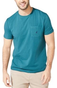 Nautica Men's Logo Pocket T-Shirt