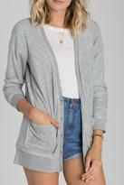 Billabong Grey Soft Cardigan