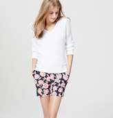 """LOFT Floral Riviera Shorts with 6"""" Inseam"""