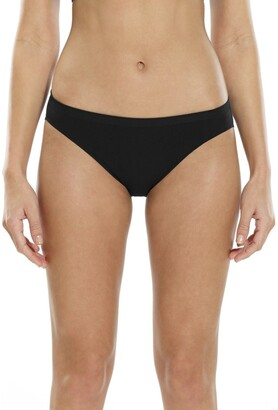 Ambra Seamless Singles Cheeky Hipster Black 12-14