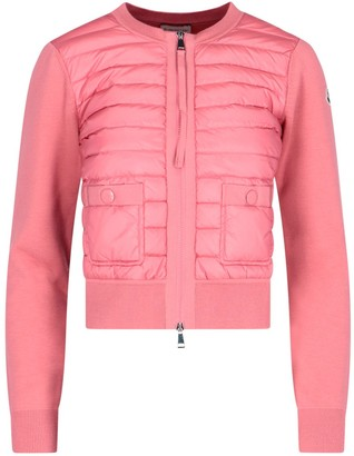 Moncler Padded Collarless Jacket