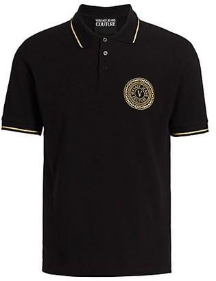 Versace Jeans Couture New Buttons Logo Polo