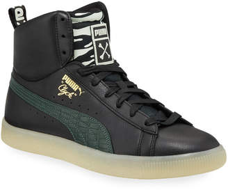 Puma Clyde High-Top Sneakers