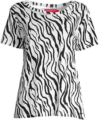 n:philanthropy Harlow Zebra-Print Tee