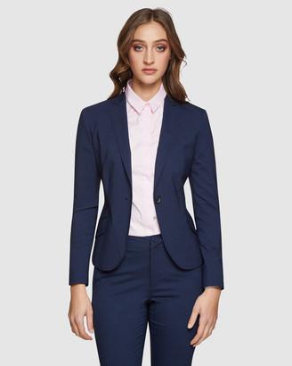 Oxford Pixie Wool Lycra Suit Jacket