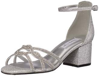 Touch Ups Women's Zoey Sandal Silver 10 M US
