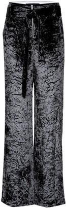 Proenza Schouler Crushed velvet wide-leg pants