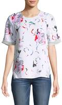 Prabal Gurung Women's Floral Print Top