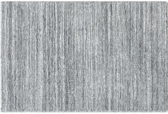Company C CompanyC Stratosphere Hand-Loomed Pewter Area Rug CompanyC Rug Size: Rectangle 2' x 3'