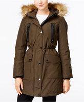 MICHAEL Michael Kors Hooded Faux-Fur-Trim Down Anorak Jacket