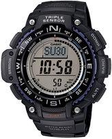 Casio Triple Sensor Mens Black Resin Strap Digital Sport Watch SGW1000-1A