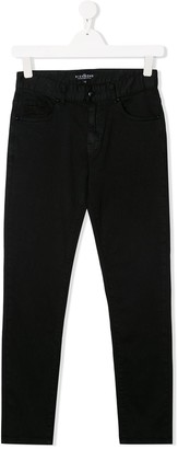 John Richmond Junior TEEN mid-rise slim jeans