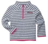 Vineyard Vines Toddler's, Little Girl's & Girl's Striped Fleece Sweater