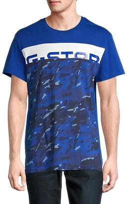 G Star Graphic Cotton Tee