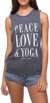 Spiritual Gangster Peace Love Yoga Tank