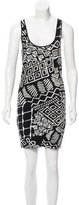 Torn By Ronny Kobo Sleeveless Printed Dress