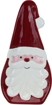 Boston Warehouse Curly-Beard Santa Spoon Rest