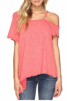 Free People Easy Pink Tee