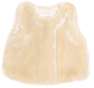 Chloé Kids Baby faux fur vest