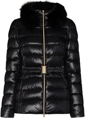 Herno Piumino Giacco belted puffer jacket