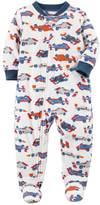Carter's Baby Boy Winter Fleece Footed Pajamas