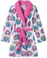 Girls 4-12 My Little Pony Pinkie Pie & Rainbow Dash Fleece Bath Robe