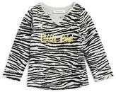 3 Pommes Girls' Zebra Print Tee - Baby