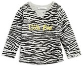 3 Pommes Infant Girls' Zebra Print Tee - Sizes 3-24 Months