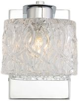 Quoizel Platinum Seaview 1-Light Bath Fixture in Silver