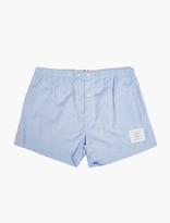Thom Browne Blue Cotton Boxer Shorts