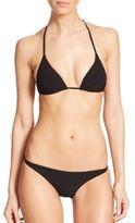 Orlebar Brown Nicola Konig Halter Bikini Top