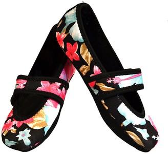 Nufoot Betsy Lou Women's Shoes Best Foldable & Flexible Flats Slipper Socks Travel Slippers & Exercise Shoes Dance Shoes Yoga Socks House Shoes Indoor Slippers