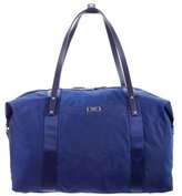 Tumi Leather-Trimmed Nylon Weekender