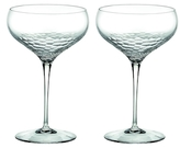 Vera Wang Wedgwood Sequin Saucer Champagne Glasses (Set of 2)