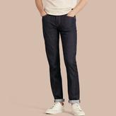 Burberry Slim Fit Stretch Japanese Selvedge Jeans