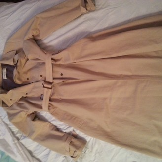 Ramosport Ecru Cotton Trench coats