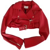Vicolo Red Jacket for Women
