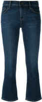 J Brand 'Selena' cropped bootleg jeans - women - Cotton/Polyurethane - 24