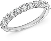 Bloomingdale's Diamond Band in 14K White Gold, 1.0 ct. t.w. - 100% Exclusive