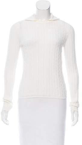 Malo Patterned Turtleneck Sweater