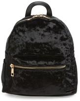 BP Mini Velvet Backpack - Black