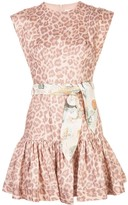 Zimmermann Kira flounce short dress