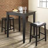 Crosley 3-Piece Chloe Pub Table Set