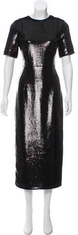 Diane von Furstenberg Sequin Midi Dress