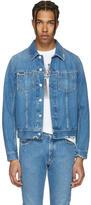 Maison Margiela Indigo Denim Distressed Jacket