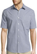 Claiborne Easy-Care Short-Sleeve Button-Front Shirt